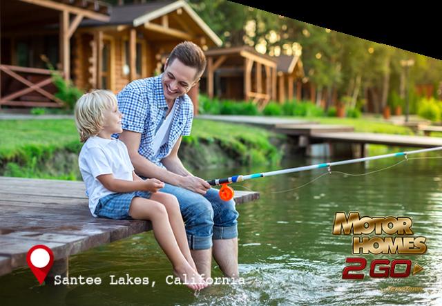 Santee Lakes, California