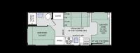 2016 Four Winds 22E Floor Plan