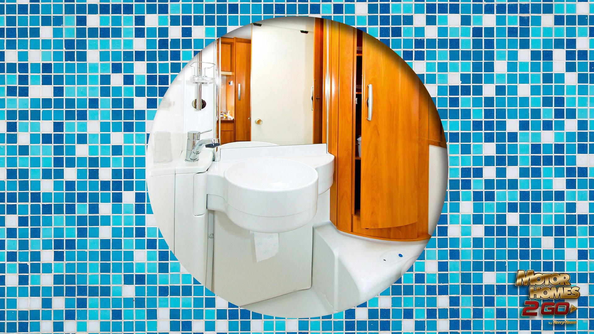 Bathroom Organizational Hacks. Motorhomes 2 Go RV Blog