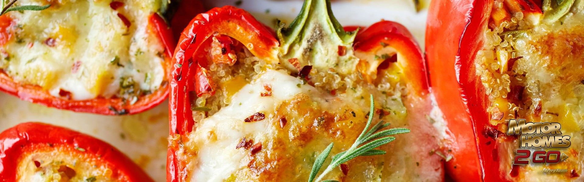 Stuffed bell peppers Banner