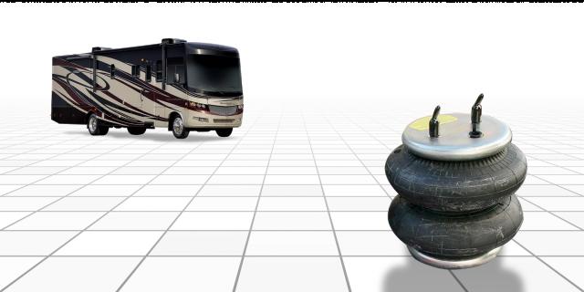 airbag shocks RV suspension