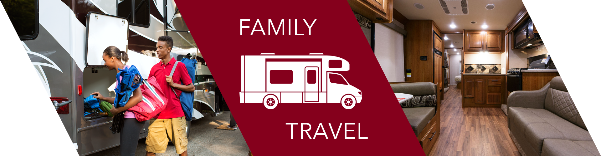 Class C Motorhome for comfortable family travel