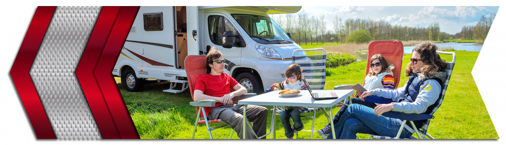 Enjoy the outdoors with your motorhome and family