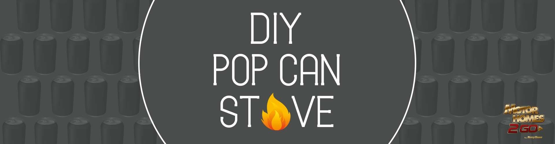 diy pop can stove
