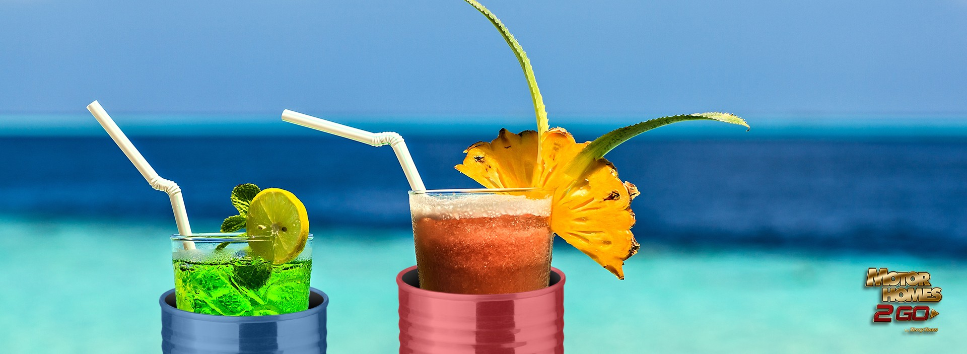 Make your Own Outdoor Drink Holder