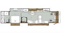 2019 Charleston 430RBTS-450 Floor Plan