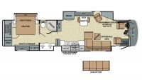 2017 Anthem 42DEQ Floor Plan