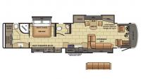 2017 Aspire 44B Floor Plan