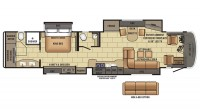 2017 Cornerstone 45B Floor Plan