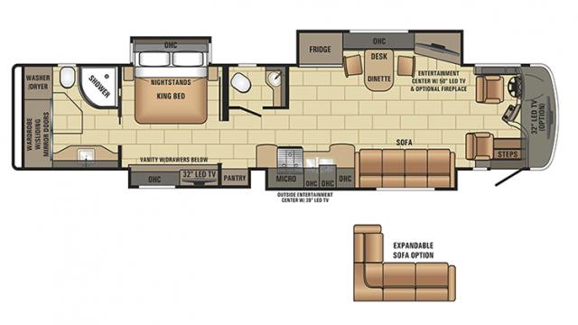 2017 Insignia 44B Floor Plan