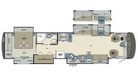 2018 Charleston 430BH-450 Floor Plan