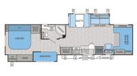 2016 Seneca 37FS Floor Plan