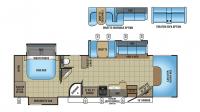 2017 Seneca 37HJ Floor Plan
