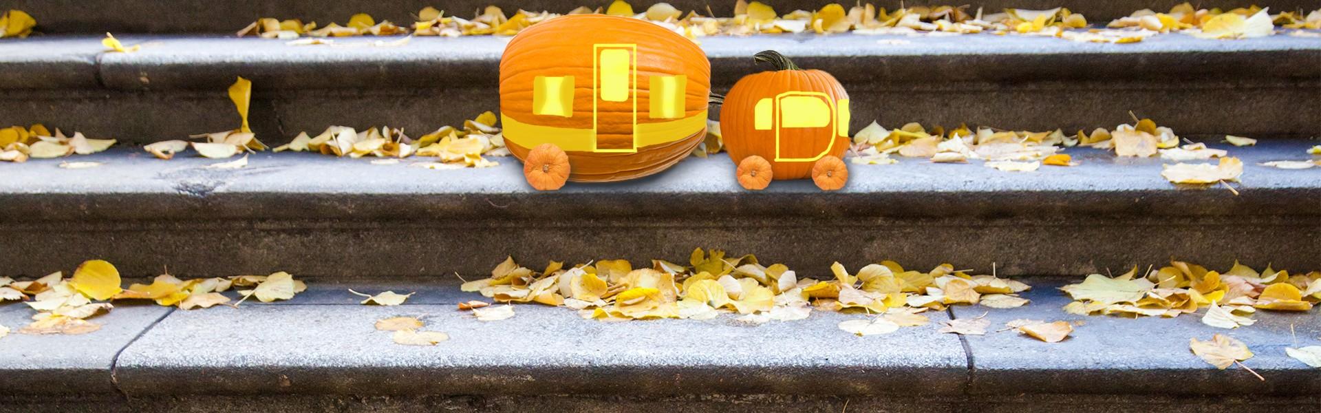 rv pumpkin carving