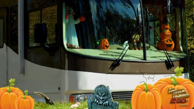 Decorate Your RV For Halloween