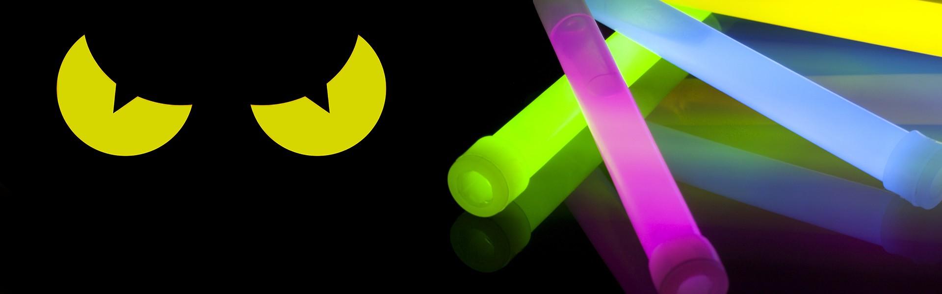 glow sticks for evil eyes