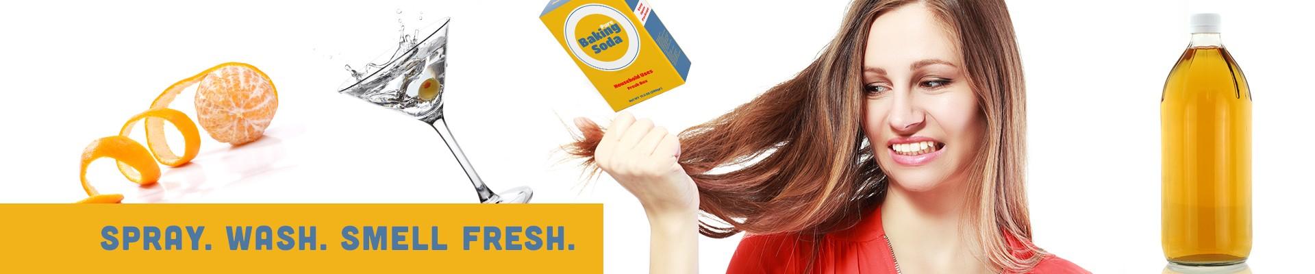 spray-wash-smell-fresh-woman-with-dirty-hair-orange-peel-martini-baking-soda-apple-cider-vinegar