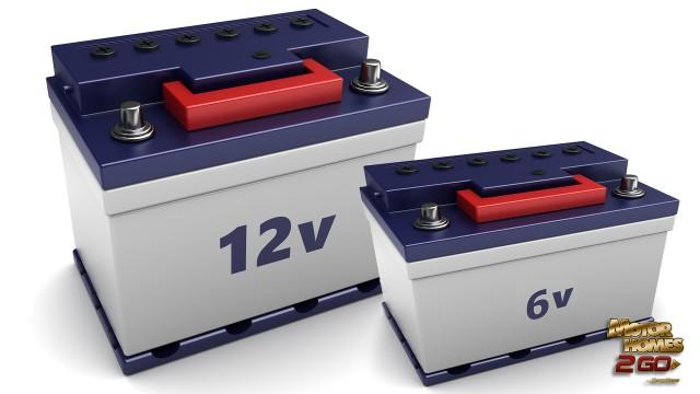 12v And 6v Battery