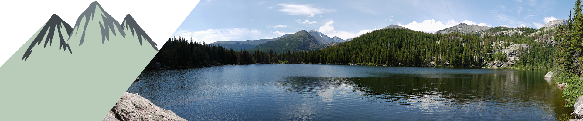 Bear Lake in the Rocky Mountain National Park.