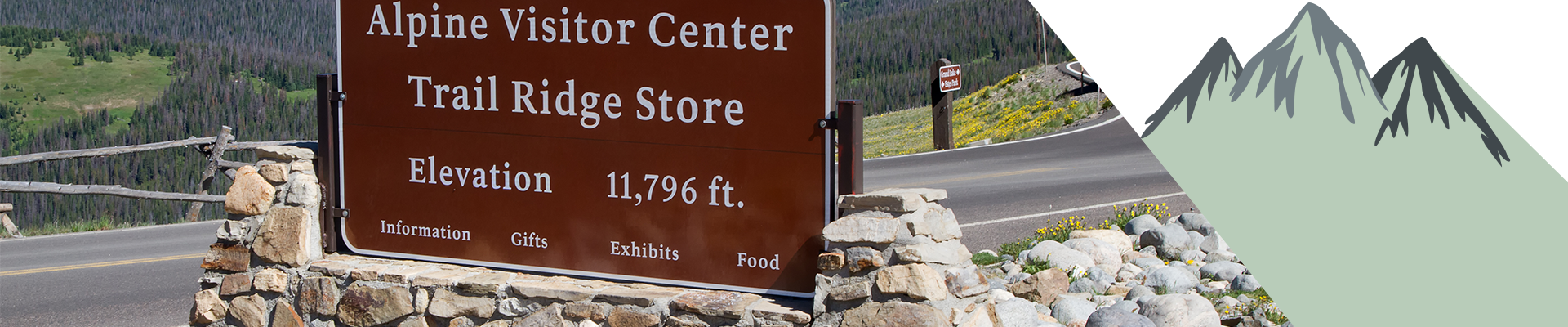 Alpine Visitor Center in the Rocky Mountains National Park.