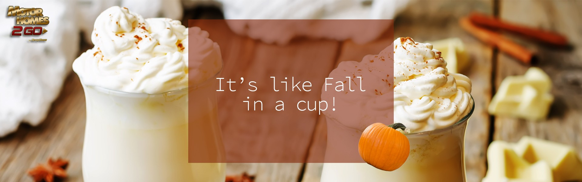 It's like fall in a cup! White chocolate pumpkin spice hot chocolate with cinnamon