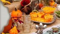 Pumpkin cornbread at fall time