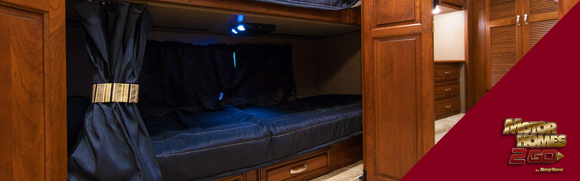Picture of: Diy Camper Bunk Privacy Curtains