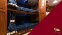 DIY camper bunk privacy curtains