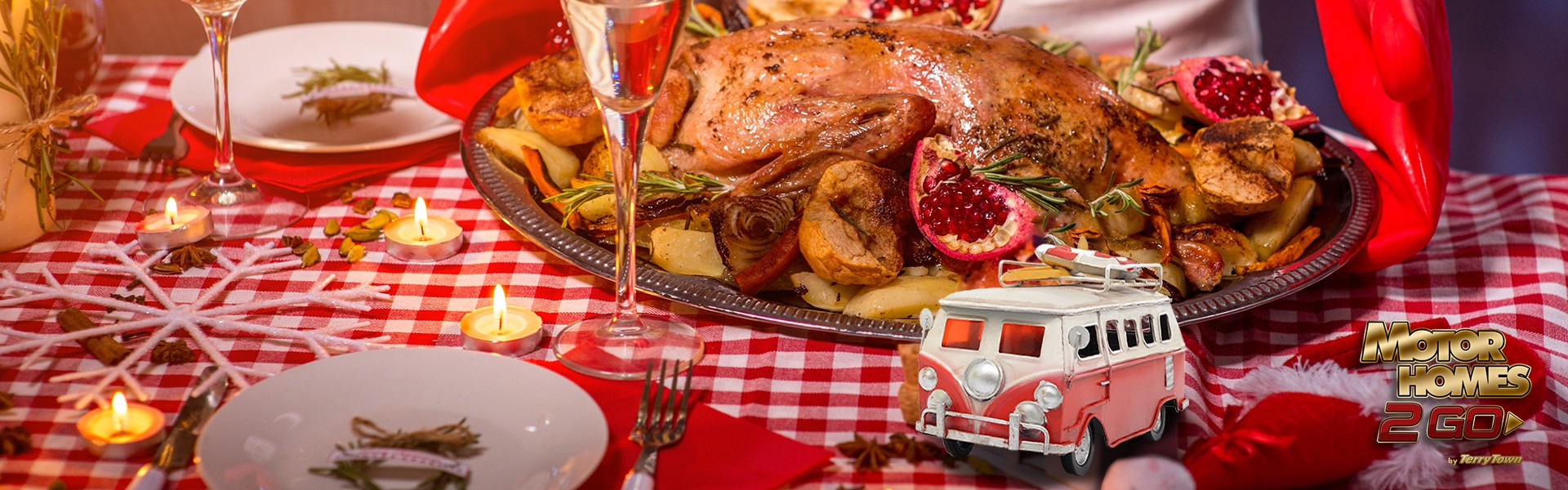 Here's how to host a Holiday dinner party in your RV.