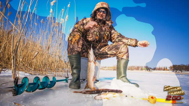 Best Ice Fishing Spots In Michigan