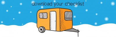 Download your checklist for what you need to bring on your winter camping trip