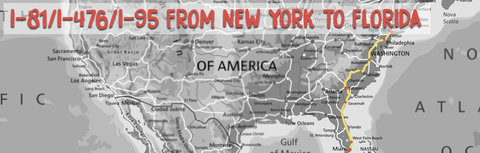 new york to florida