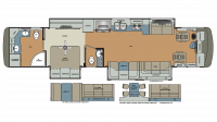 2018 Berkshire XLT 43C Floor Plan