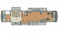 2018 Berkshire XL 40C-380 Floor Plan
