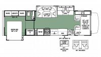 2017 Forester 3011DS Floor Plan