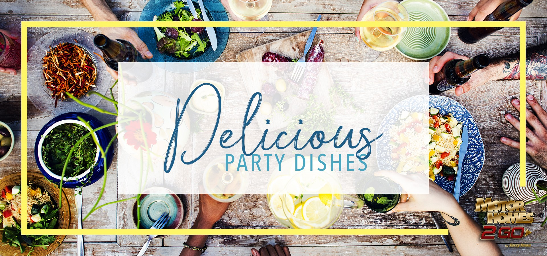 delicious party dishes - potluck dishes to die for