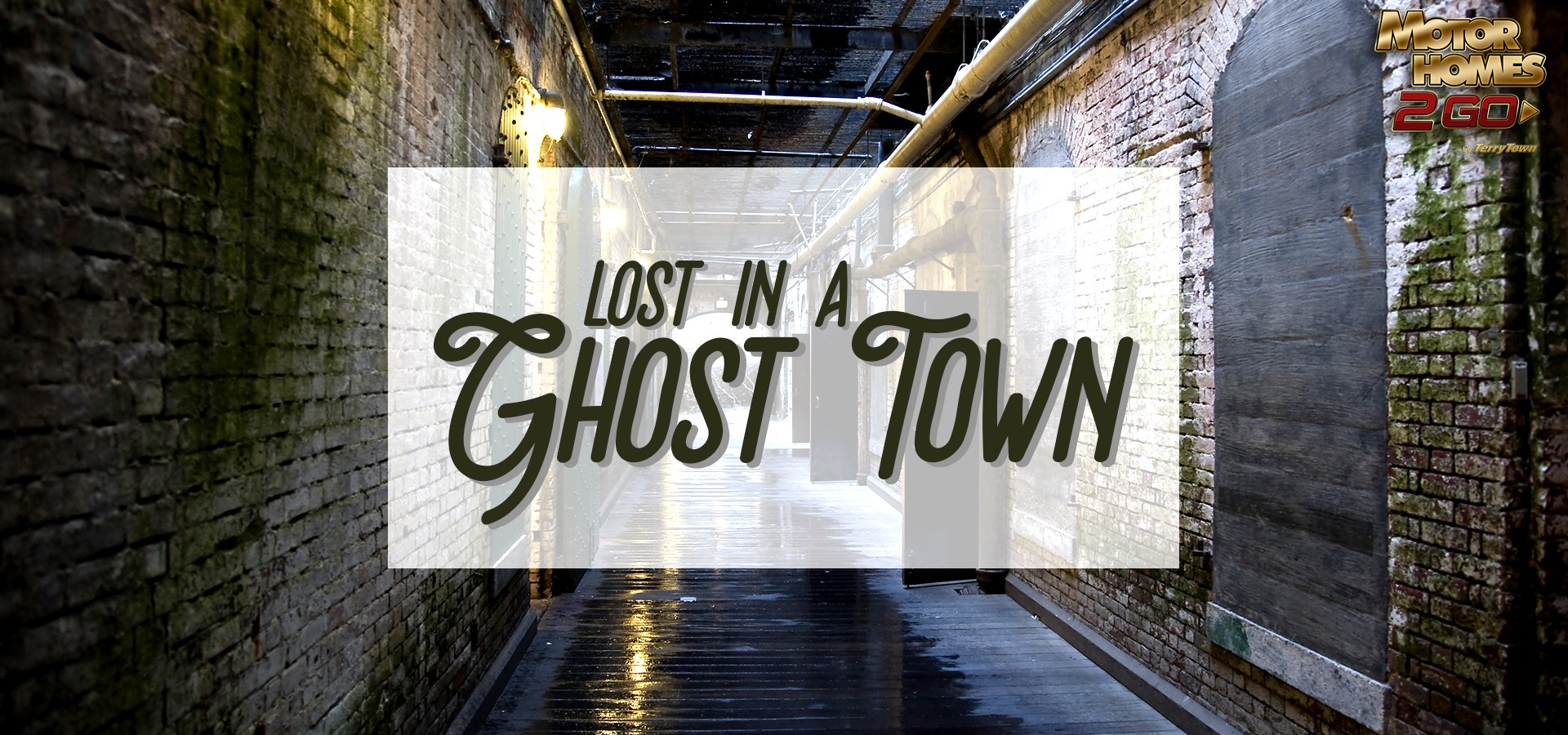 Lost in a ghost town