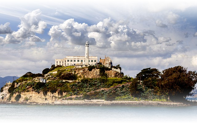 Alcatraz in San Francisco, California
