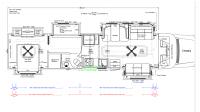 2018 ShowHauler 35 QFSSL-B Floor Plan