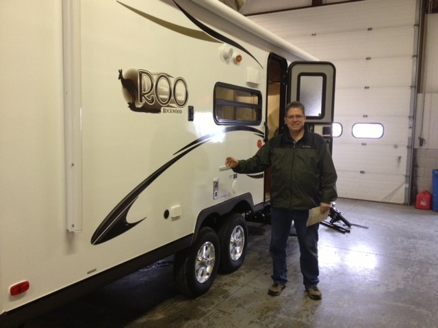 Gary Wright of Westminister, CO with their Rockwood Roo 21SS