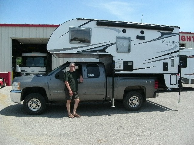 Phil Sly of Casnovia with their Rockwood Roo 23WS