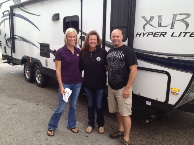 Gordon P of Newfane, AB with their XLR Hyper Lite 27HFS