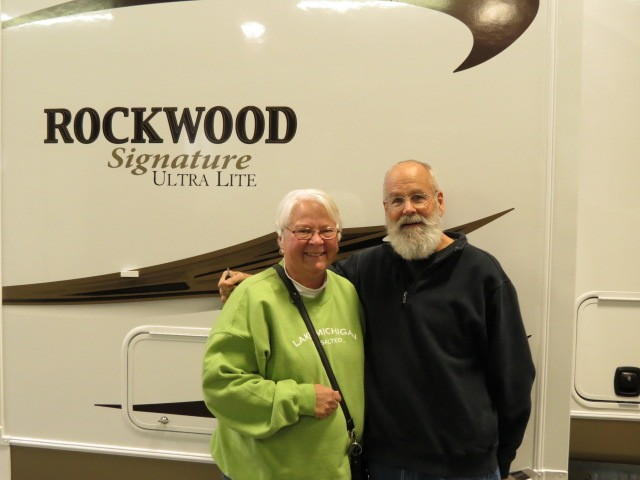 Dan Griff of Hamilton, MI with their Rockwood Signature Ultra Lite 8311SS