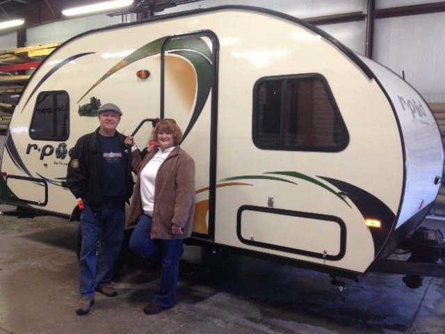 Bill Hallin of Waukon, NM with their R-Pod 171