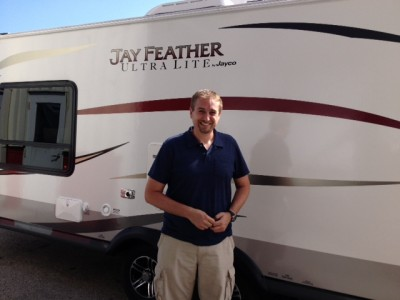 Chad of Davisburg with their Jay Feather Ultra Lite X19H