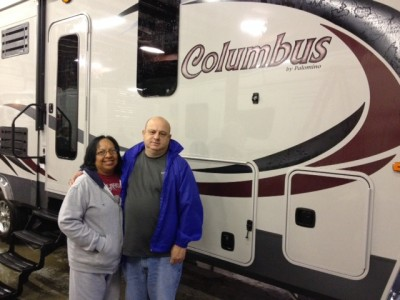 Gary Atkins of Duncan, OK with their Columbus 295RL