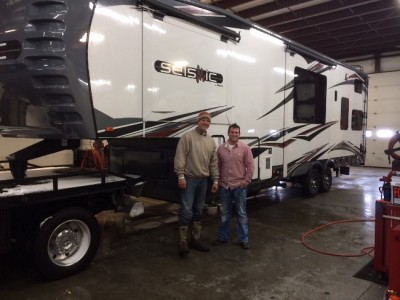 Mike Barbe of Metter, GA with their Seismic 4212