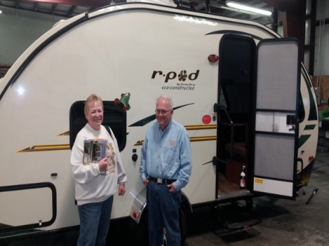 The Silverthorns Johnson of Merkel, TX with their R-Pod 182G