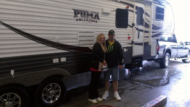 Lisa Vanetten of Eastlake, KS with their Puma Unleashed 24THS