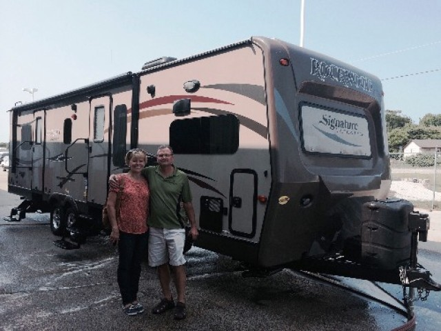 Rick of Haslett, NL with their Rockwood Signature Ultra Lite 8311SS